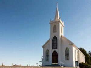 pretty church building